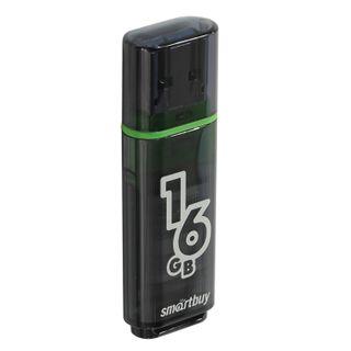 SMARTBUY / Flash Drive 16 GB, Glossy, USB 2.0, black