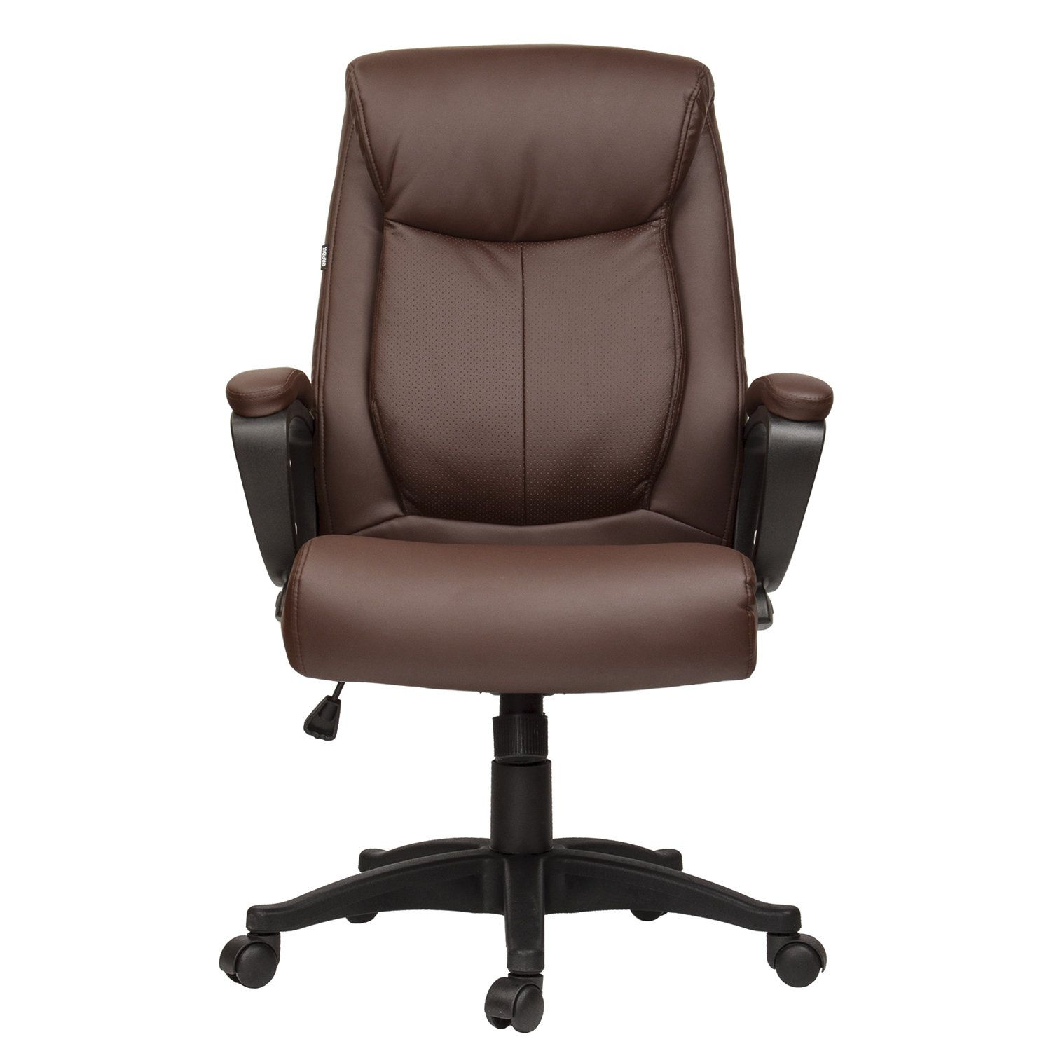 """Office chair BRABIX """"Enter EX-511"""", eco-leather, brown"""