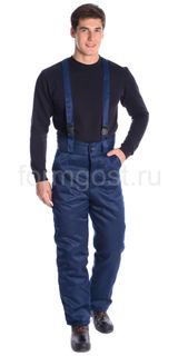 "Pants ""Work M"" insulated, Navy blue"