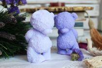 Teddy the Shy Bear - handmade soap