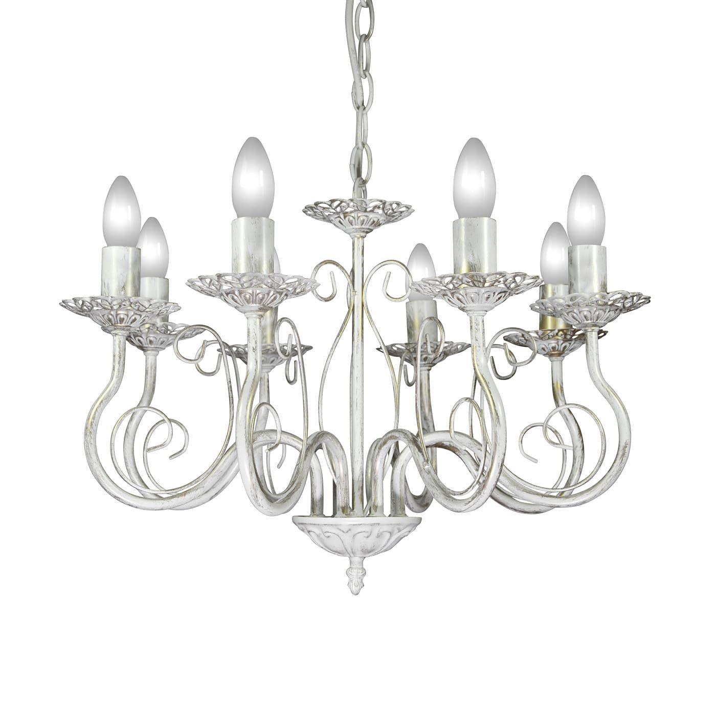 PETRASVET / Pendant chandelier S1161-8, 8xE14 max. 60W