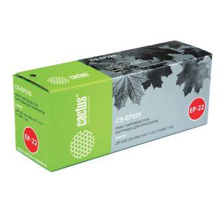 Laser cartridge CACTUS (CS-EP22) for CANON LBP-800/810/1120, resource 2500 pages.