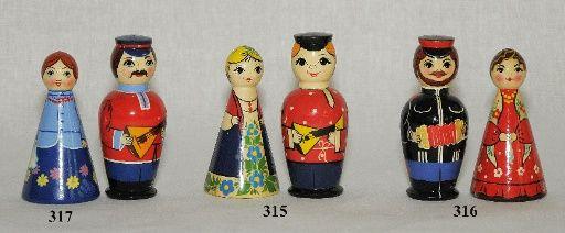 """Vyatka souvenir / Set """"Russian souvenir"""""""