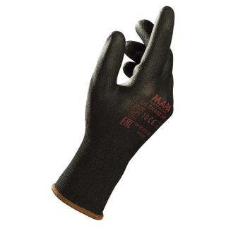 MAPA / Gloves nylon Ultrane 548, polyurethane coating (doused), size 10 (XL), black