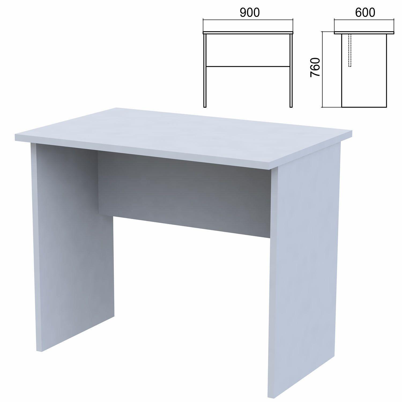 "Table written ""Argo,"" 900 x600 x760 mm, grey"