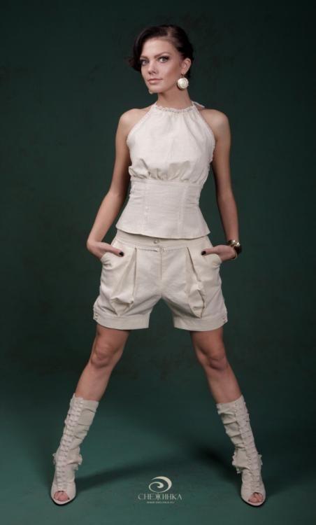 "Women's shorts ""Desert of the far North"""