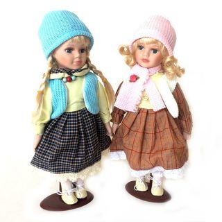 Porcelain doll 30 cm