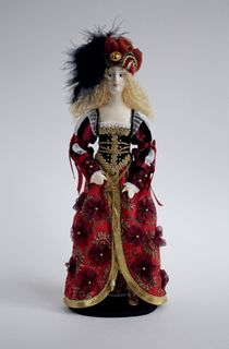 Doll gift. Venetian
