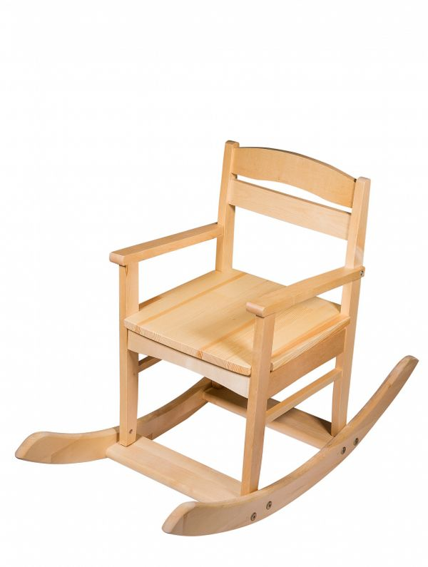 Rocking chair wooden child's 'Baby'