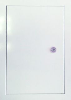 Hatch revision metal with the lock of 200х200 mm