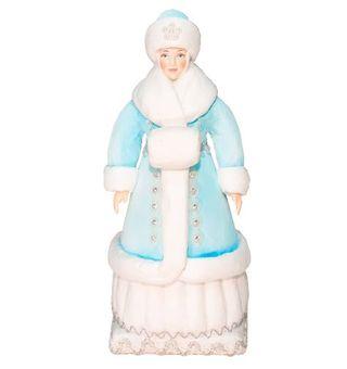 Snow Maiden from cotton wool, 31 cm.