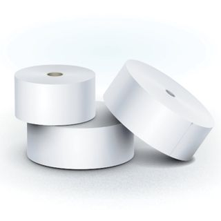 Receipt tape thermal PAPER 80 mm (diameter 150 mm, length 244 m, the sleeve 26 mm) layer out, BRAUBERG
