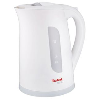 Kettle TEFAL KO270130, 1.7 litres, 2400 w, closed heating element, plastic, white/grey