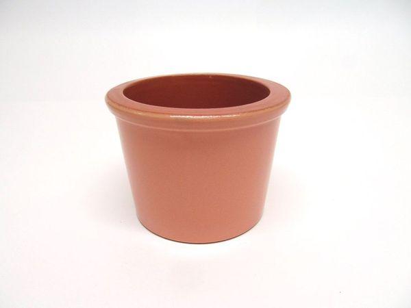 Vyatka ceramics / Set of 6 muffin tins, 0.2 l. (beige)