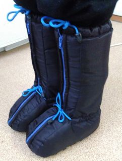 Warm plaster / splinter case with rubber sole