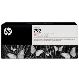 HP (CN710A) DesignJet L26500 # 792 Light Magenta Original Ink Cartridge
