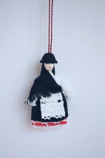 Doll gift. Women's costume of the 20th century. Canary Islands: Gran Canaria.