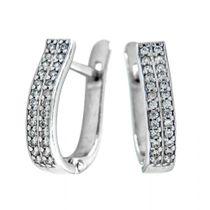 Earrings 30055 'Two roads'
