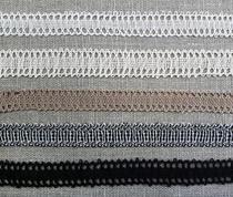 Lace machine stitching