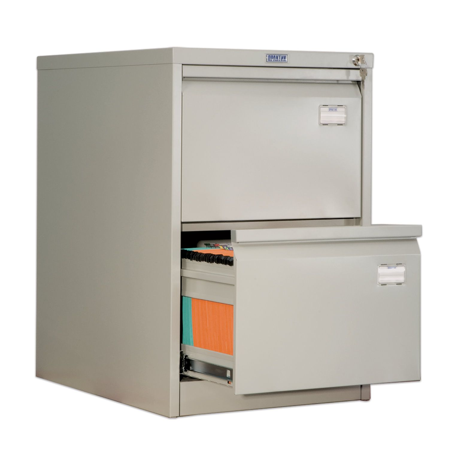 AFC-02 card cabinet, 713 x467 x630 mm, 2 boxes, for 110 hanging folders, Foolscap or A4 folder format (NO FOLDERs)