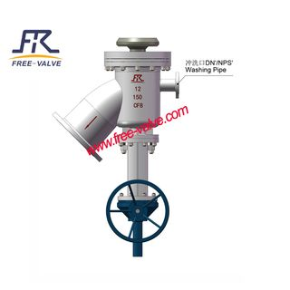 Flusing Type Tank Bottom Valve Used for Coal Water Slurry System,Bottom Flush Tank Valve