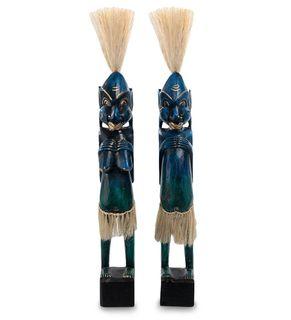 """Wooden statuette """"Asmat"""" 50 cm"""