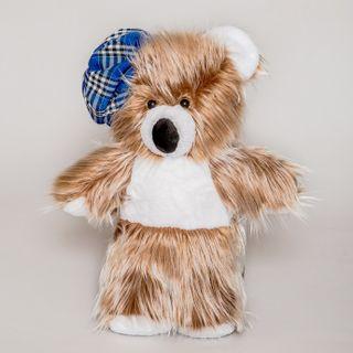 Teddy bear - a soft children's toy.
