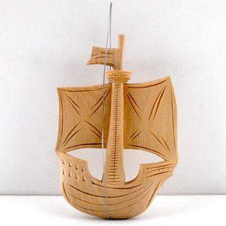 Souvenir of Galilee boat, Bogorodskaya thread