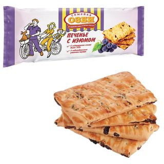 OZBI FAMILY / Biscuits with raisins, 185 g