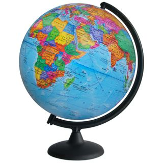 Political globe with a diameter of 300 mm