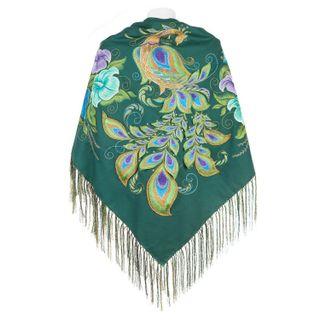 "Handkerchief ""the Firebird"" green, pre-order"