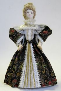 Ladies ' home outfit. Doll gift