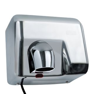BXG-250A hand dryer, 2300 w, stainless steel, chrome