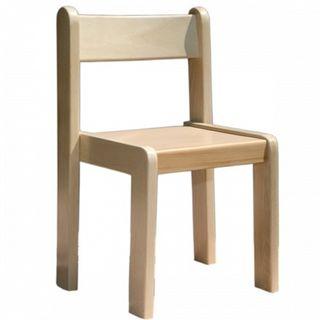 Chair children's wooden