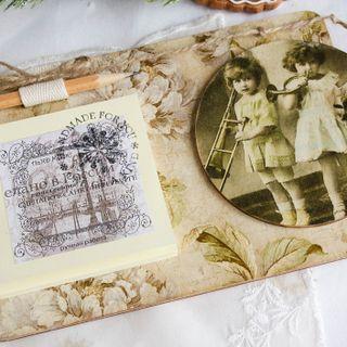 Handmade magnet Old Postcards