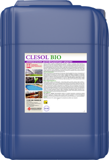 CLESOL Bio for treatment and disinfection of greenhouses and farms
