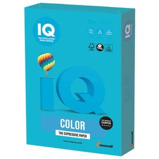 IQ COLOR / A4 paper, 80 g / m2, 100 sheets, intensive, light blue