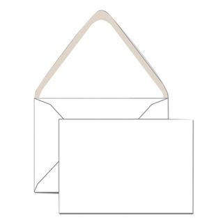 Envelopes C6 (114x162 mm), glue, dextrin, white, SET of 1000 PCs., triangular valve