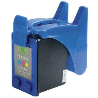 Inkjet cartridge CACTUS (CS-C6657) for HP Deskjet 5150/5550/5600/5850, color