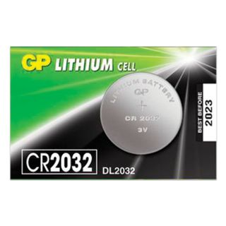 GP / Lithium CR2032 lithium battery, 1 pc. in a blister (tear-off block)