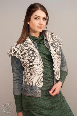 Womens vest lace