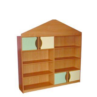 """Khokhloma painting / Toy storage rack """"House"""""""