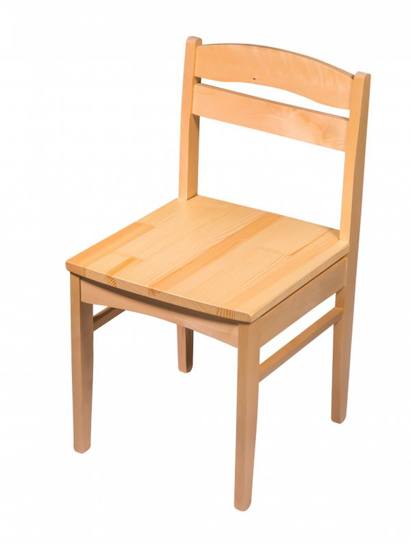 "Chair wooden child's ""Baby"" without painting, a life-size 3 category"