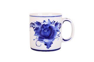 Dulevo porcelain / Mug 300 ml European Flowers
