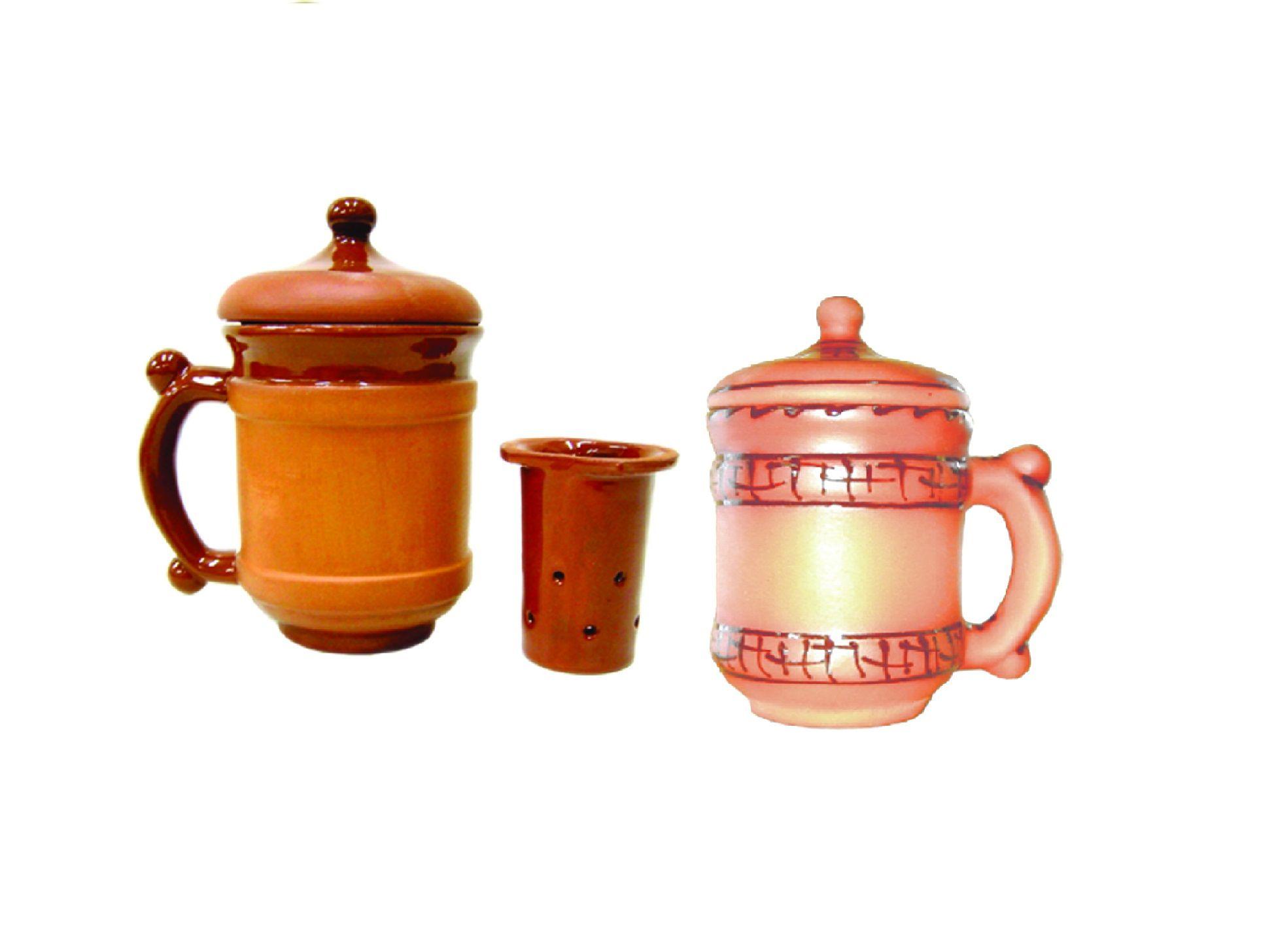 Tarusa artist / Herbal tea mug, 0.5L