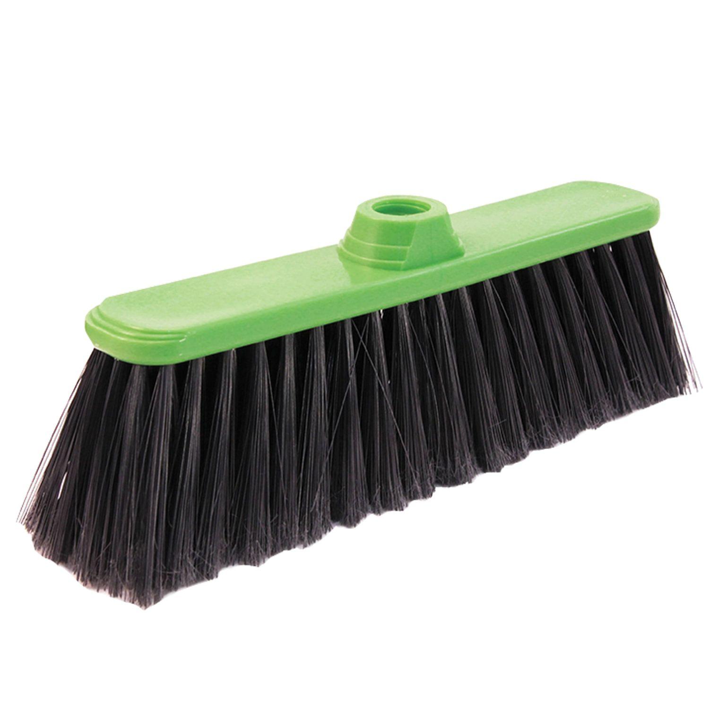 """IDEA / Brush """"Classic"""" for cleaning, width 32 cm, bristles 8 cm, plastic, Euro thread fastening"""