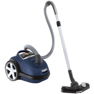 Vacuum cleaner PHILIPS FC9150/02, with dust bag, 2000 W, suction power of 425 watts, blue
