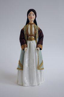 Doll gift. Women's costume. Montenegro