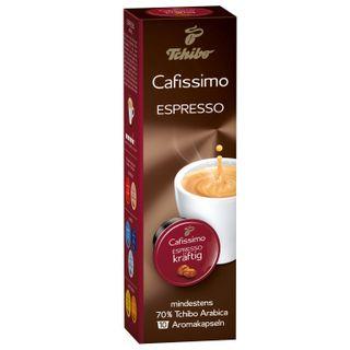 TCHIBO / Capsules for coffee machines Cafissimo Espresso Sizilianer Kraftig, natural coffee, 10 pcs. x 7.5 g