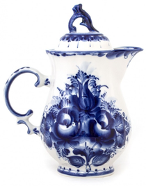 Jug 'Tulip' in the style of Gzhel